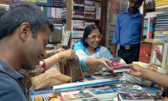 Book signing in Delhi
